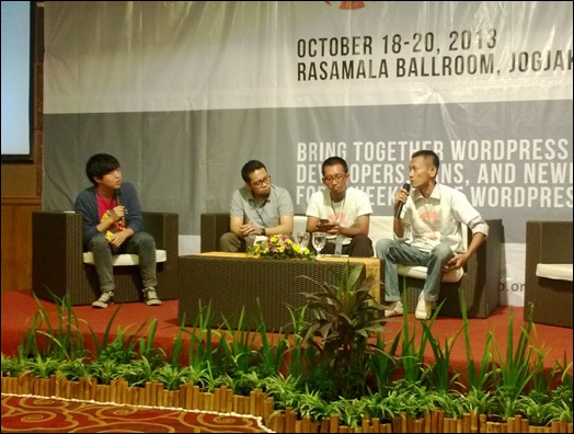 Talkshow tentang The Future of Publishing Platform